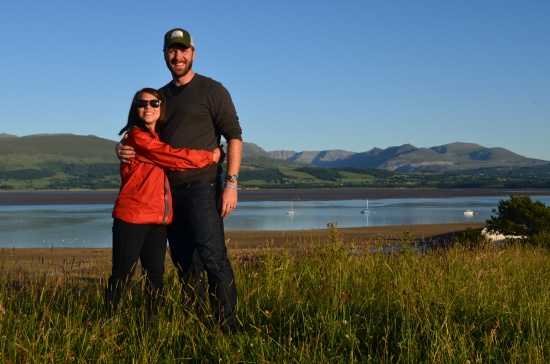 Me and hubby on our last full day in Wales. Happy and tired.