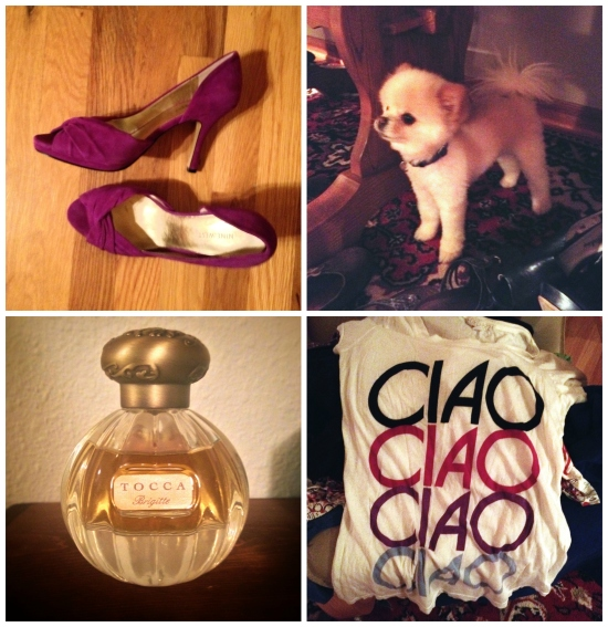 Some of my favorite finds from the party...unfortunately the doggie was not up for grabs.