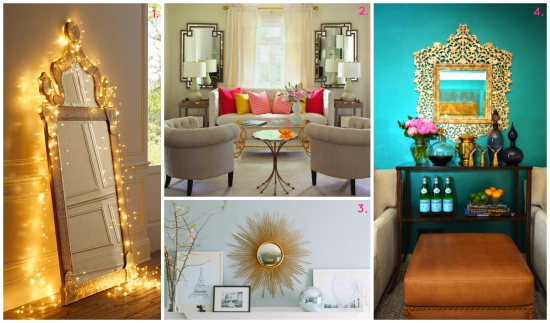 Sources: 1) PopSugar 2) Marissa Waddell Interiors 3) Decor Pad 4) Interior Homescapes