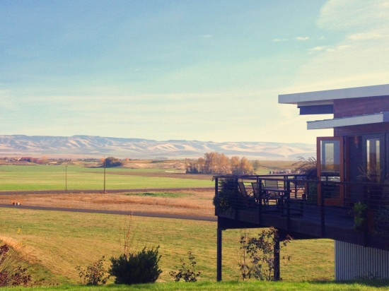Amavi Cellars had the best views.