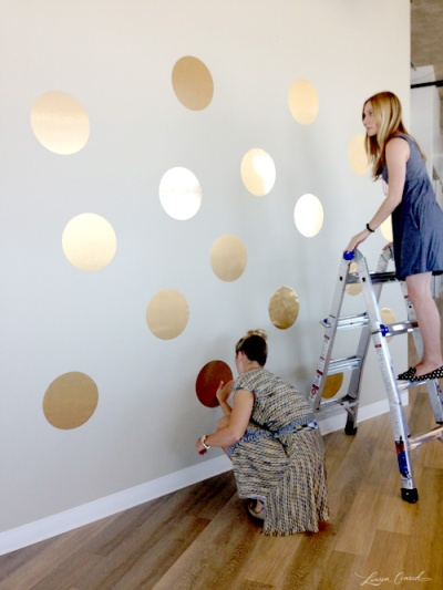 gold dots lauren conrad