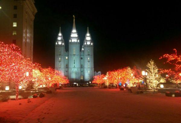 Salt Lake City's Temple Square