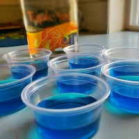 Seahawks Jello Shots - 12th Man Worthy