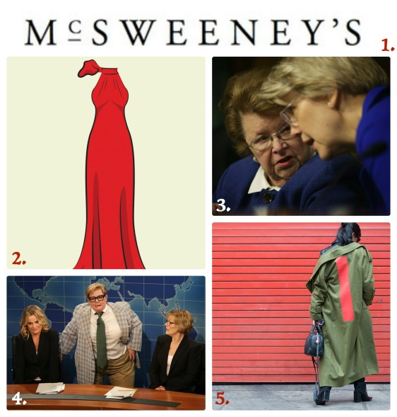 Friday Favorites: Oscar dresses, Patty Murray, SNL 40, New York Fashion Week, McSweeney's