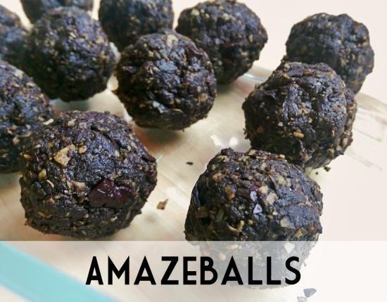 Amaze Balls chocolate energy bites