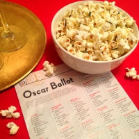 Oscar Party Essentials: Cocktails & Truffle Butter Popcorn