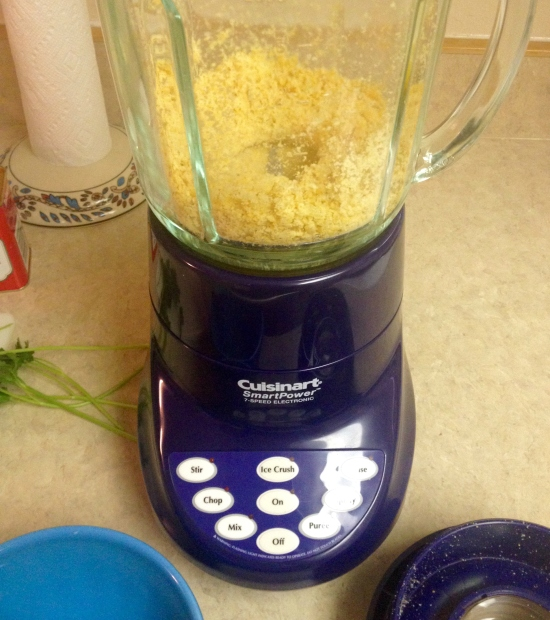 Blended chickpeas