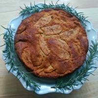 Czech Apple Cake, Inspired by the Opera