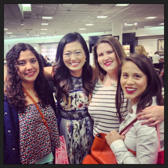 Us with Julep founder Jane Park at the Nordstrom Spring Beauty Trend Show