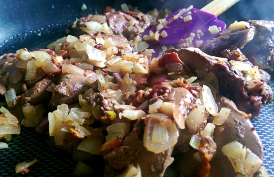 liver and onions - paleo liver pate