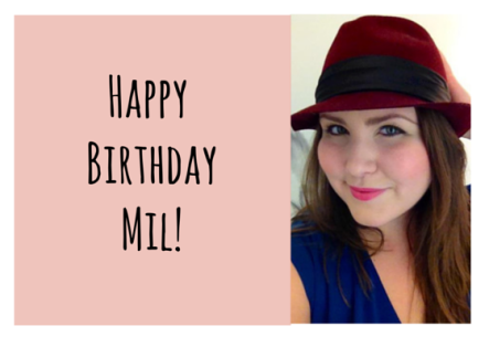 Happy Birthday Mil! (2)