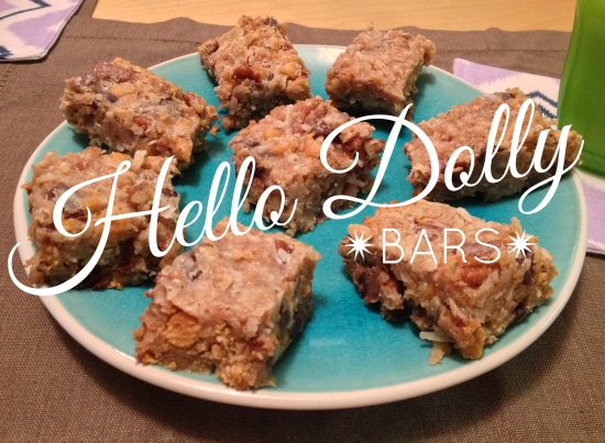 Hello Dolly Bars // via South by Northwest