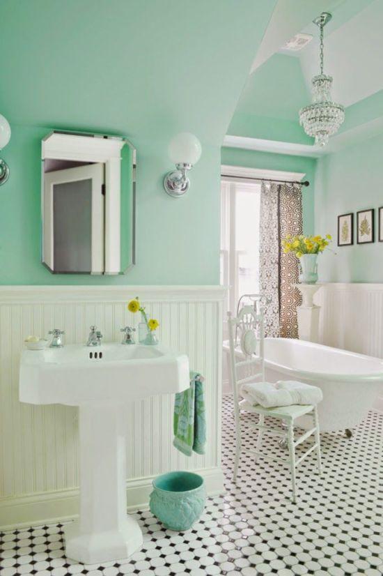 Mint bathroom