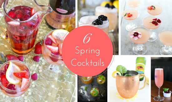 6 Spring Cocktails to Try