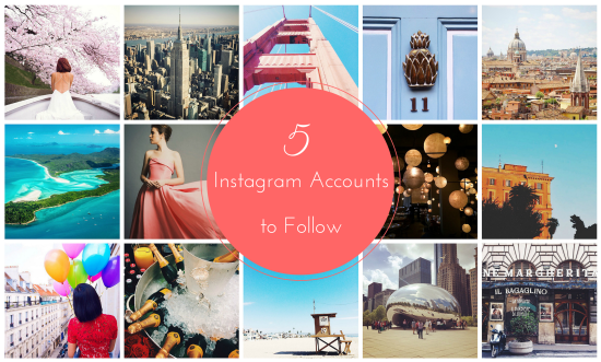 5 Instagram Accounts to Follow // via South by Northwest