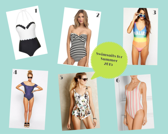 Summer 2015 Swimwear Guide