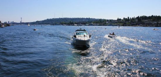 Boating on Lake Union