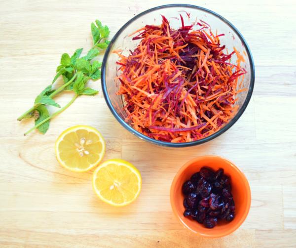 carrot salad ingred