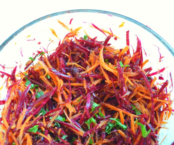 carrots and beet salad