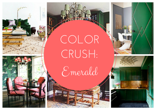 Color Crush: Emerald // via South by Northwest