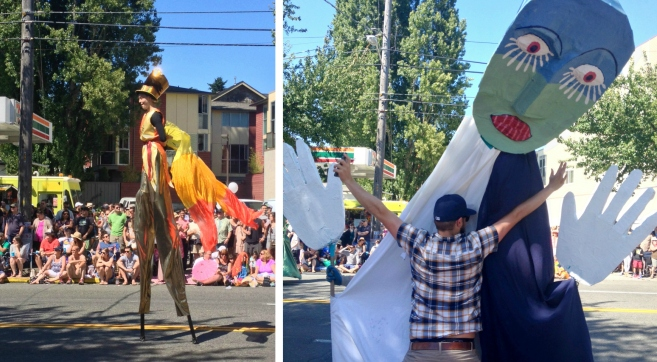 Fremont Solstice Parade, Seattle
