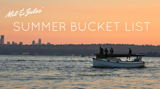 Summer Bucket List // via South by Northwest