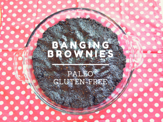 gluten free and paleo brownies