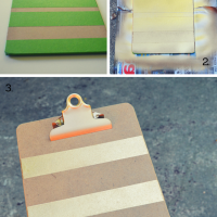 Every Girl Boss Needs a Gold Clipboard (DIY)