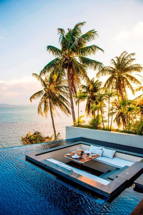 Spectacular Pools Around the World: Conrad Koh Samui, Thailand