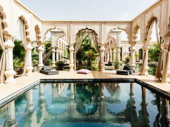 Spectacular Pools Around the World: Palais Namaskar, Morocco
