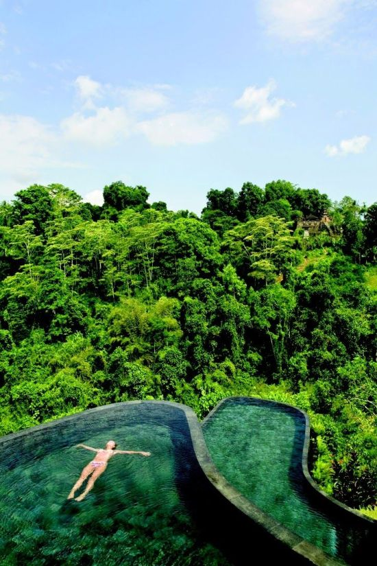 Spectacular Pools Around the World: Hotel Ubud Hanging Gardens, Bali