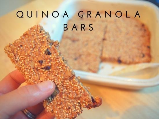Julia Malinowski Quinoa Granola Bars Low FODMAP Recipe
