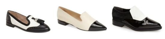 black and white loafer fall 2015 fashion julia malinowski