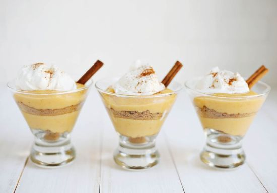 8 Pumpkin Recipes // Pumpkin Pie Pudding