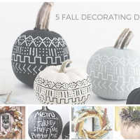 5 Fall Decorating DIYs