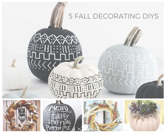 5 Fall decorating DIY projects do-it-yourself