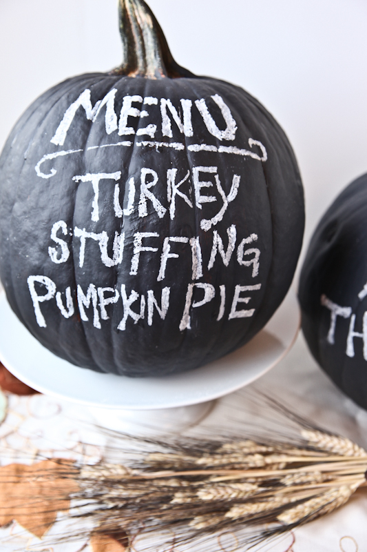 fall pumpkin craft diy thanksgiving