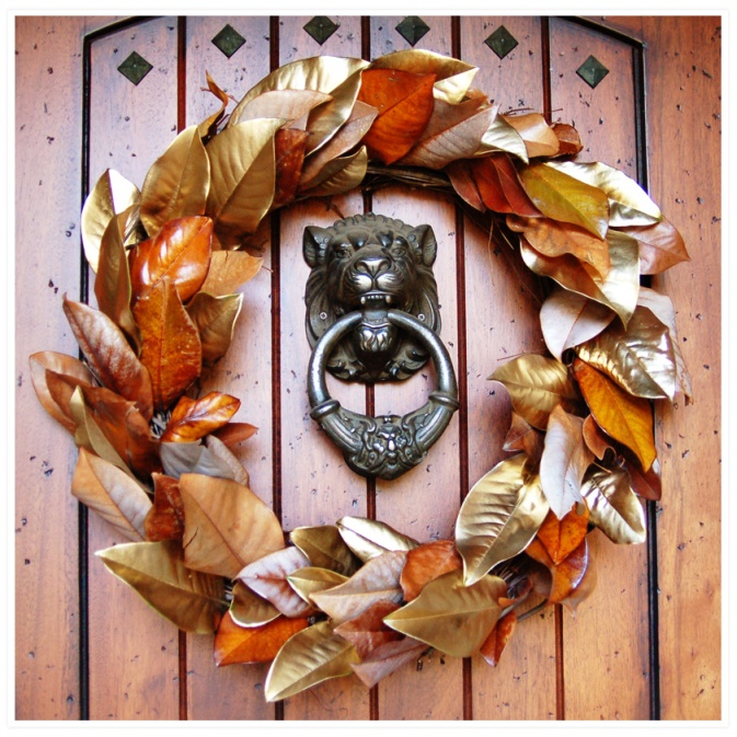 fall DIY wreath craft decorating