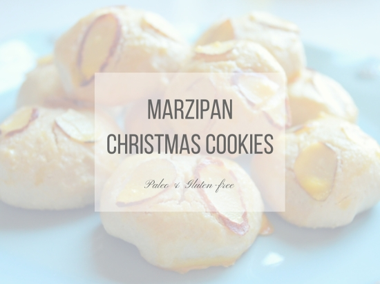 Marzipan Christmas Cookies Paleo Gluten Free South By Northwest