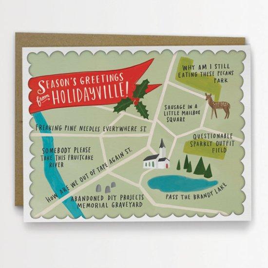 Emily McDowell Christmas Card