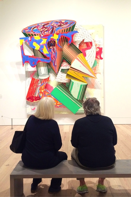 Whitney Museum Christmas in New York Frank Stella