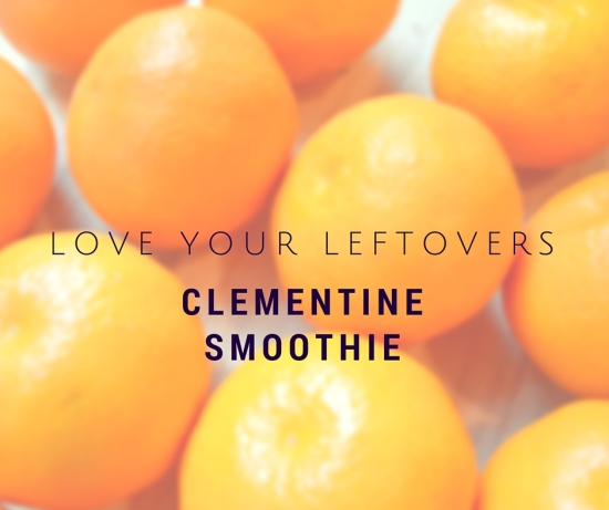 clementine smoothie healthy citrus vitamin c