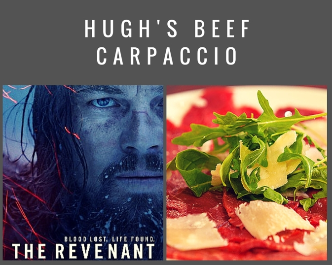 2016 oscar party appetizer beef carpaccio recipe academy awards