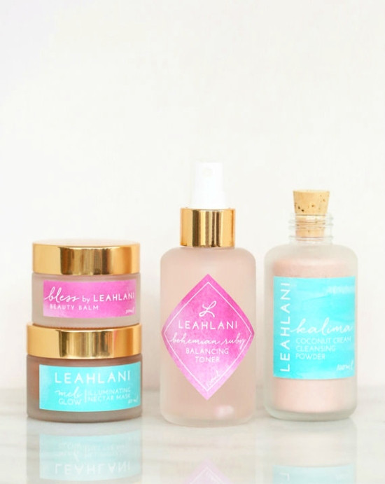 Leahlani Skincare - The Pink Collection