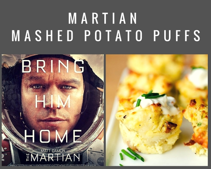 2016 oscar party appetizer the martian movie matt damon academy awards