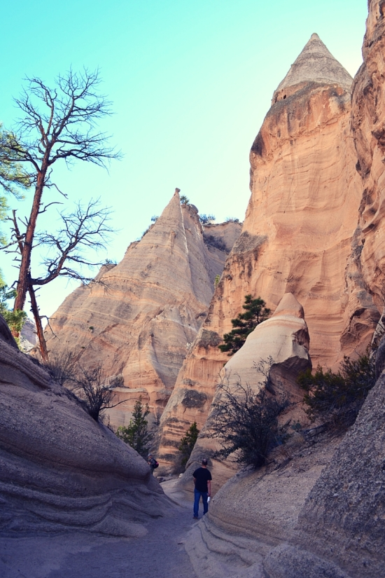 Kasha-Katuwe Tent Rocks National Monument Santa Fe New Mexico all american road trip destinations travel