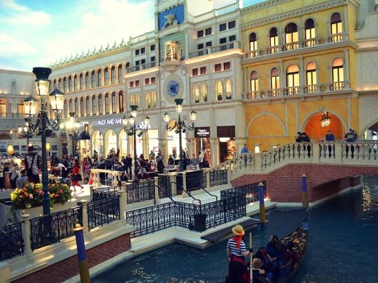 Venetian Casion Las Vegas Nevada all american road trip travel driving trip