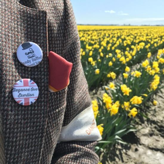 Dandy Daffodil Tweed Ride