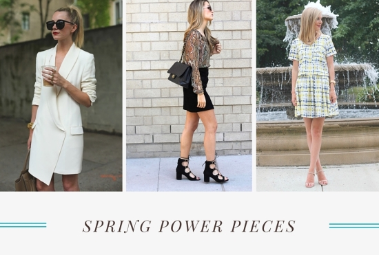 Spring Power Pieces