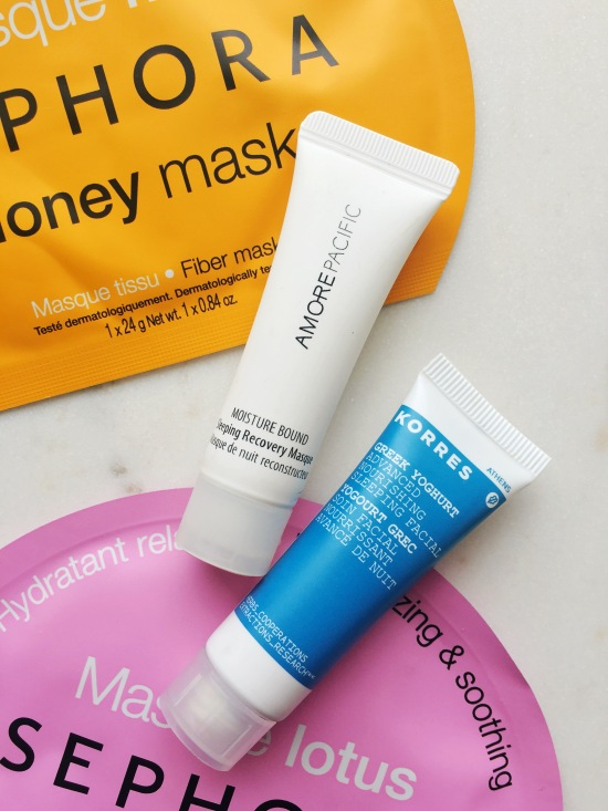 6 Masks You Need to Try // Sleeping Facials